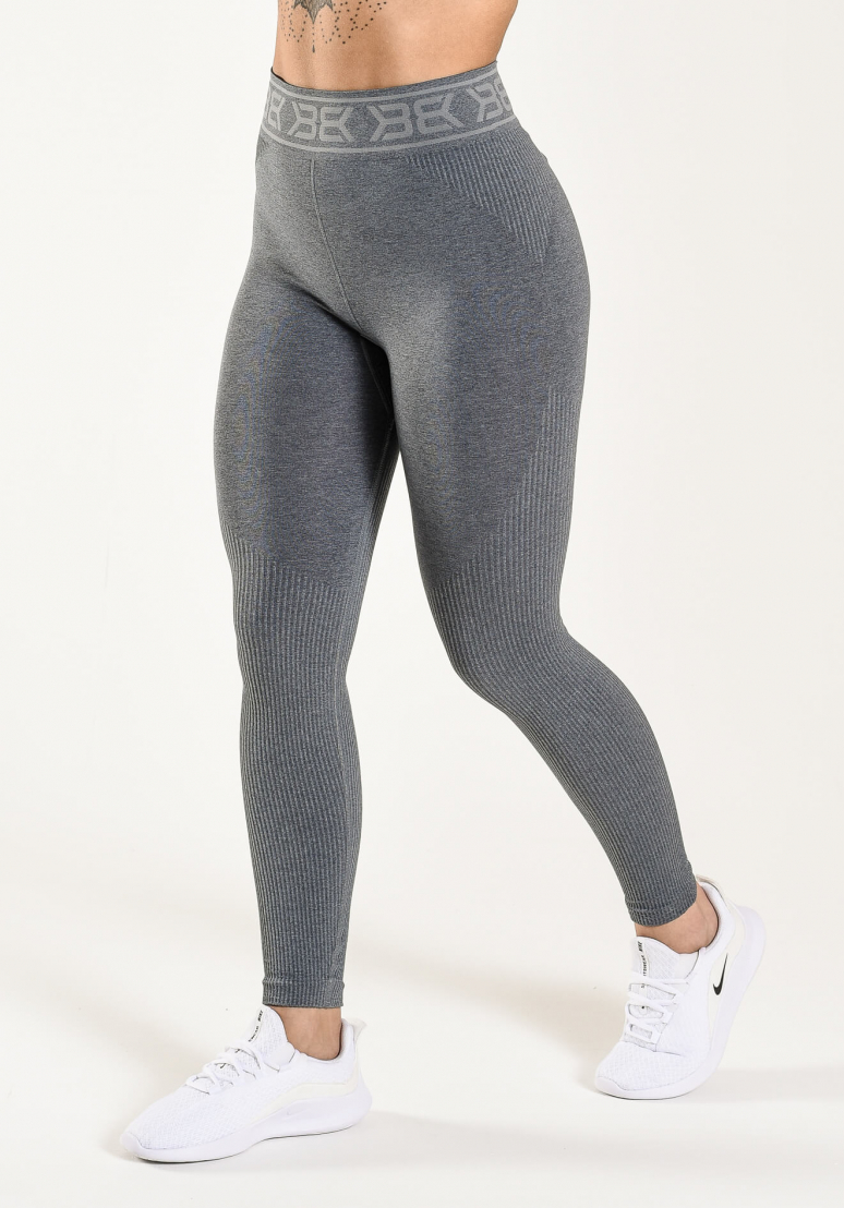 Rib Seamless Tights