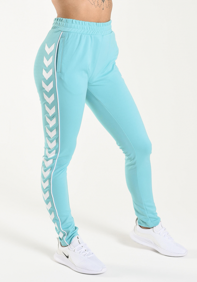 Jina Slim Pants - Teal