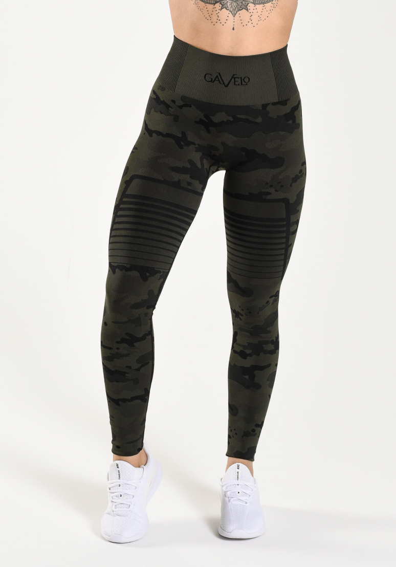 Seamless Camo Tights