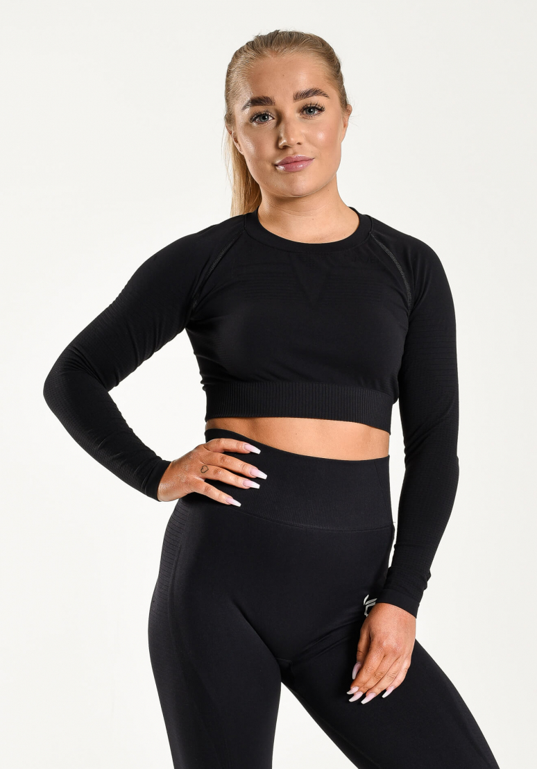 Seamless Gavelo Crop Top