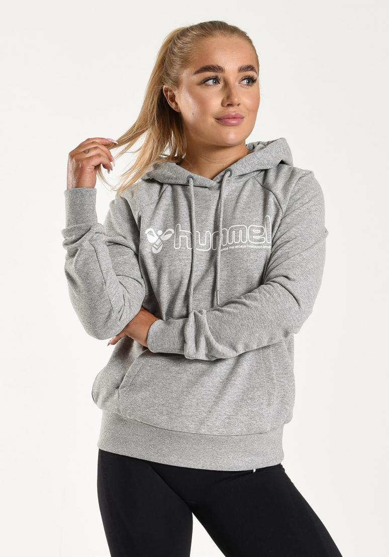 Noni Hoodie - Grey Melange