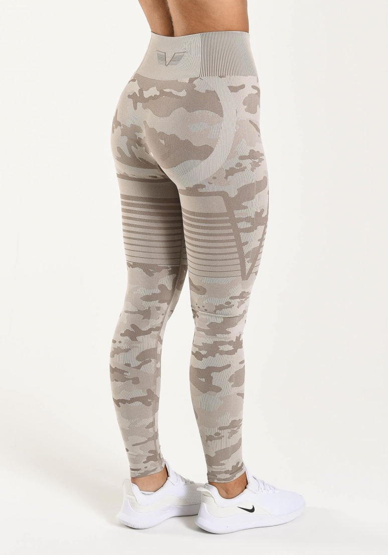 Seamless Camo Tights -...