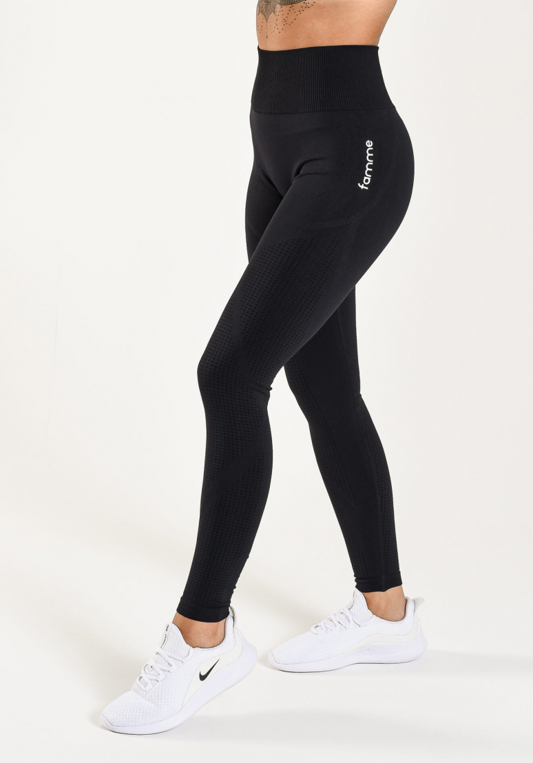 Anfrag Seamless Tights - Black