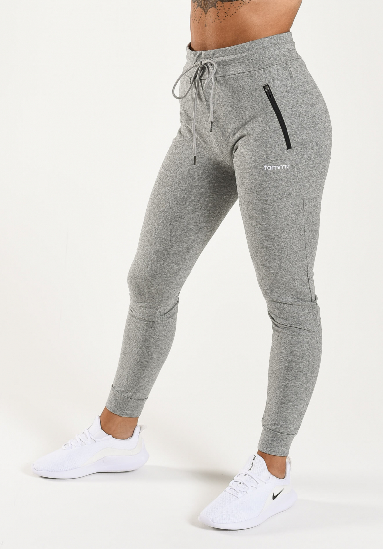 Fit Jogger - Grey Melange