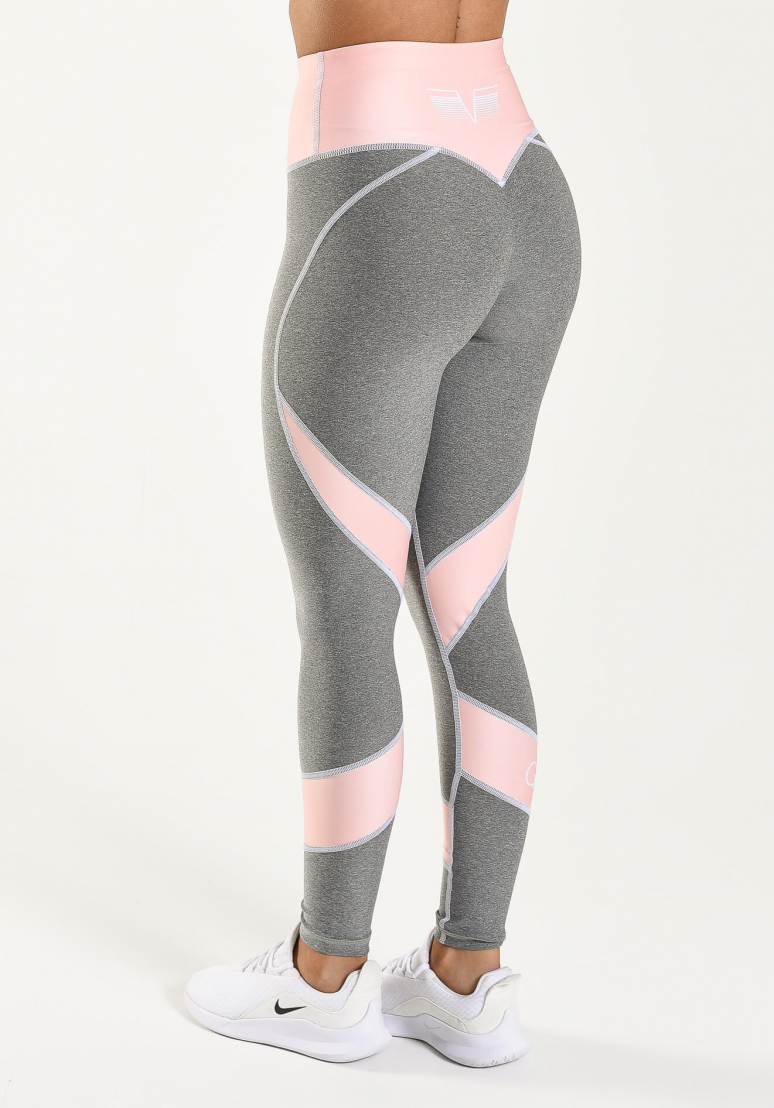 Peach Swirl Comfort Tights