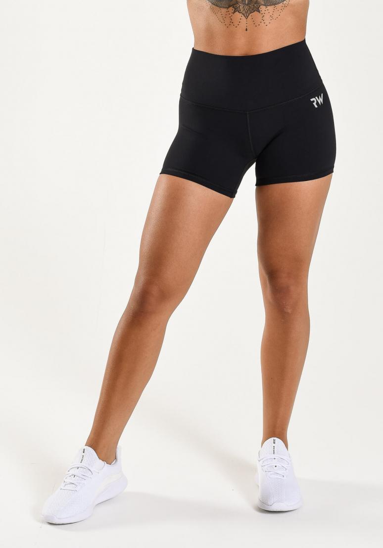 Booty Contour Shorts - Black