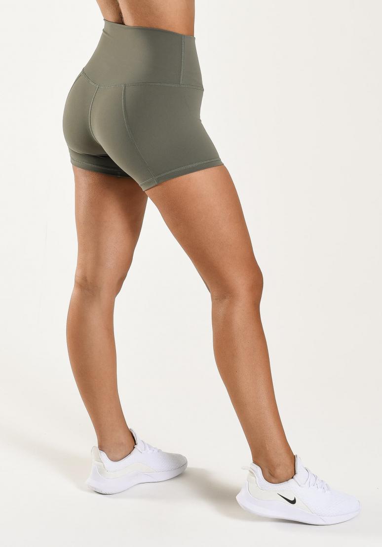 Booty Contour Shorts - Khaki
