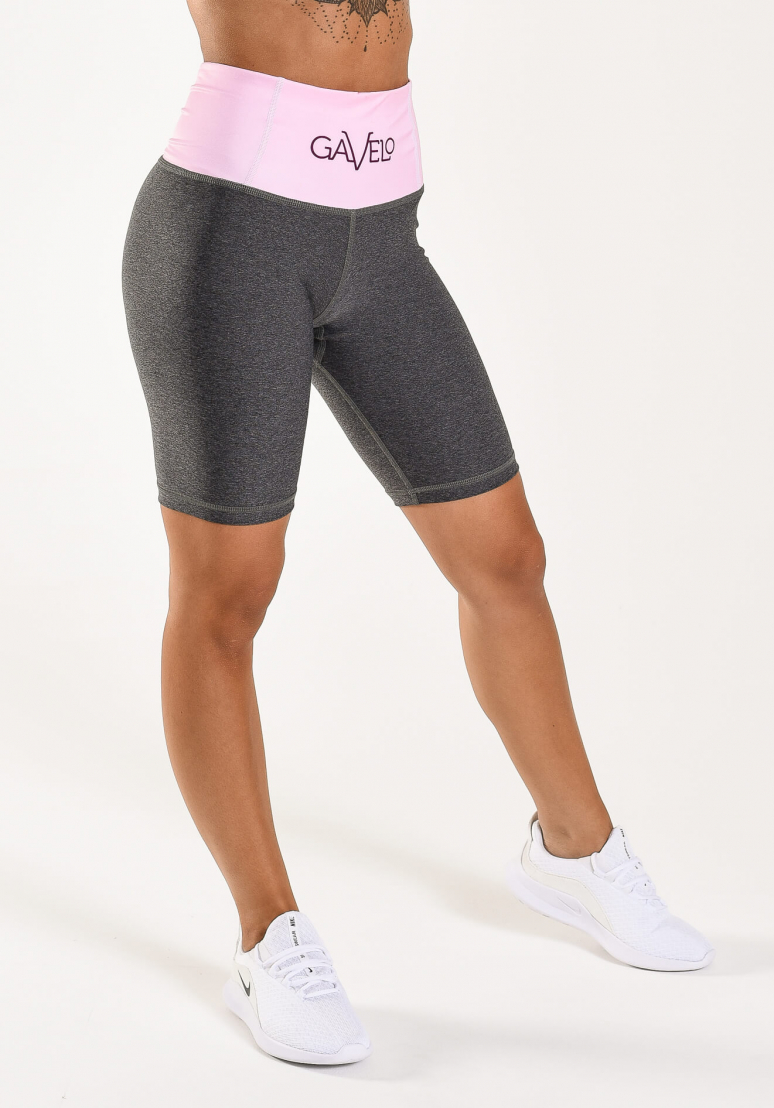 Swirl Bicycle Shorts - Pink...