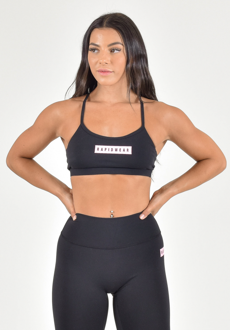 Legacy Fit Sports Bra - Black