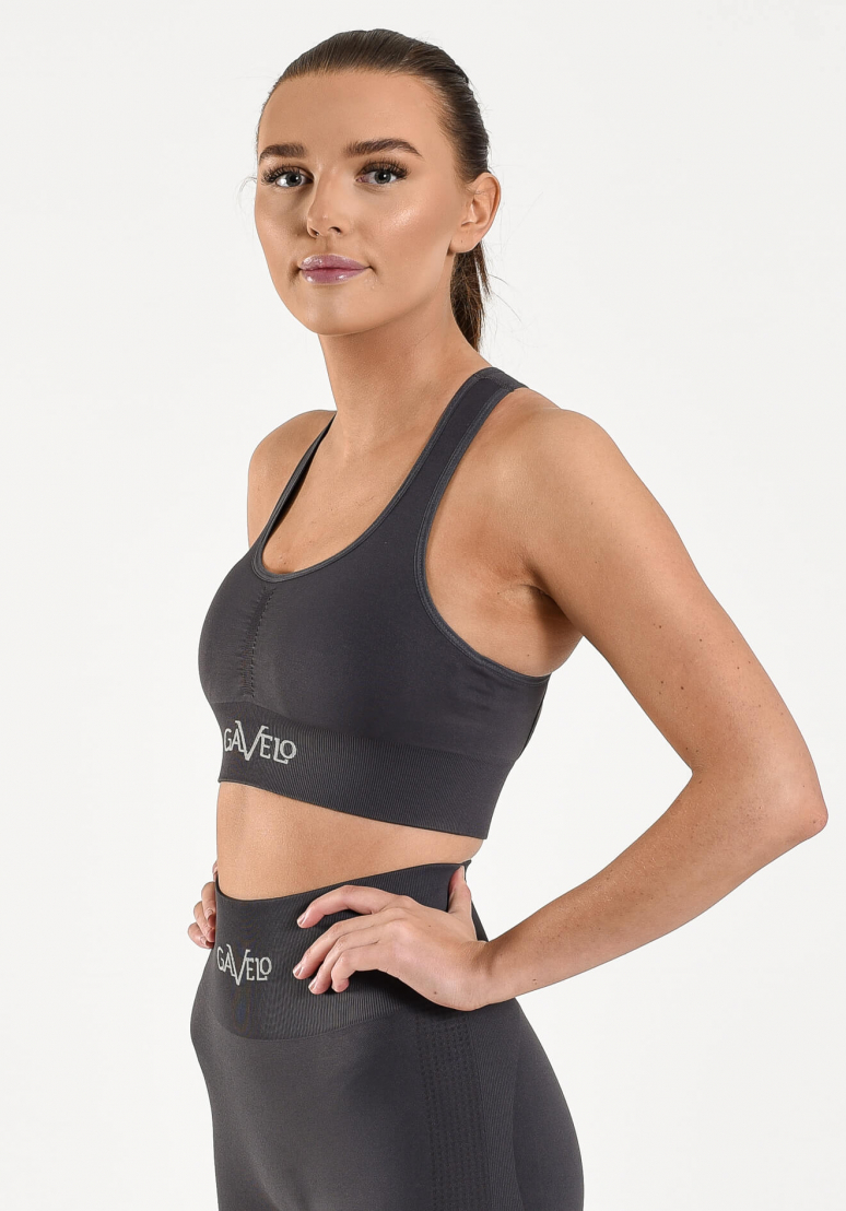 Seamless Booster Sports Bra