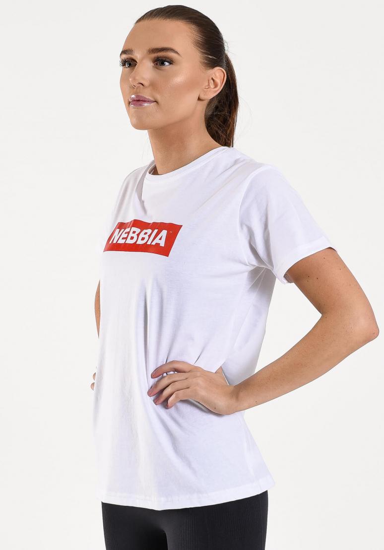 Nebbia Womens T-shirt - White