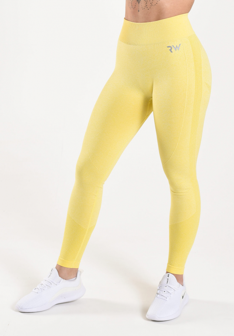 Vital Seamless Tights - Lemon