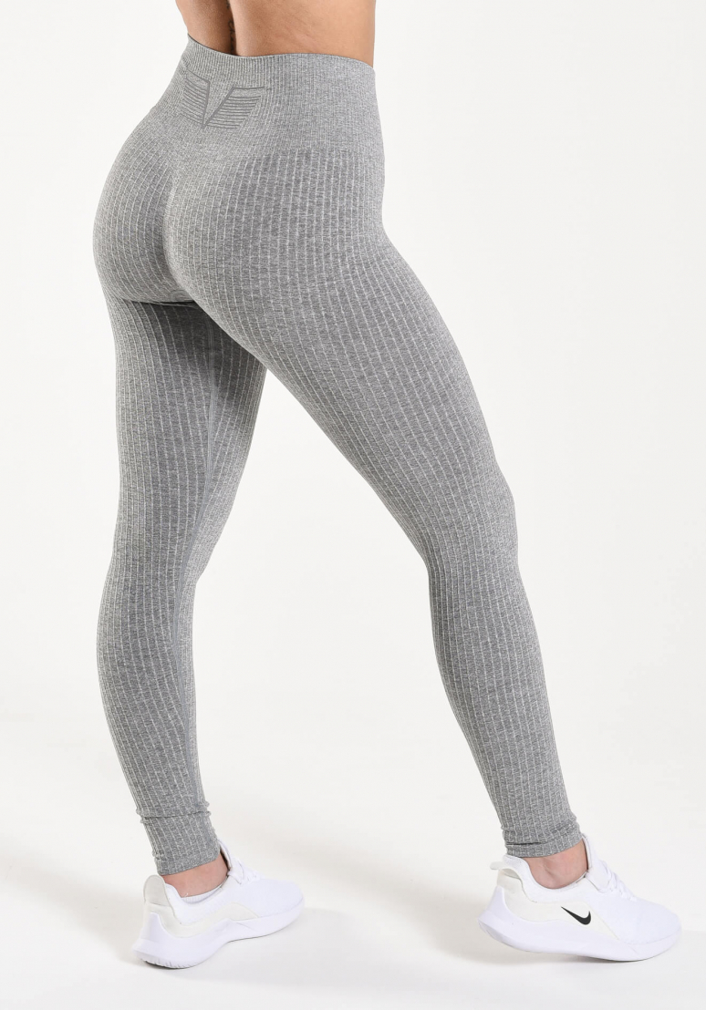 Seamless Ribbed Tights -...