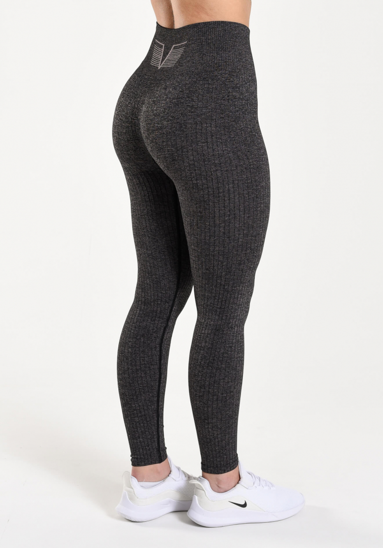 Seamless Ribbed Tights