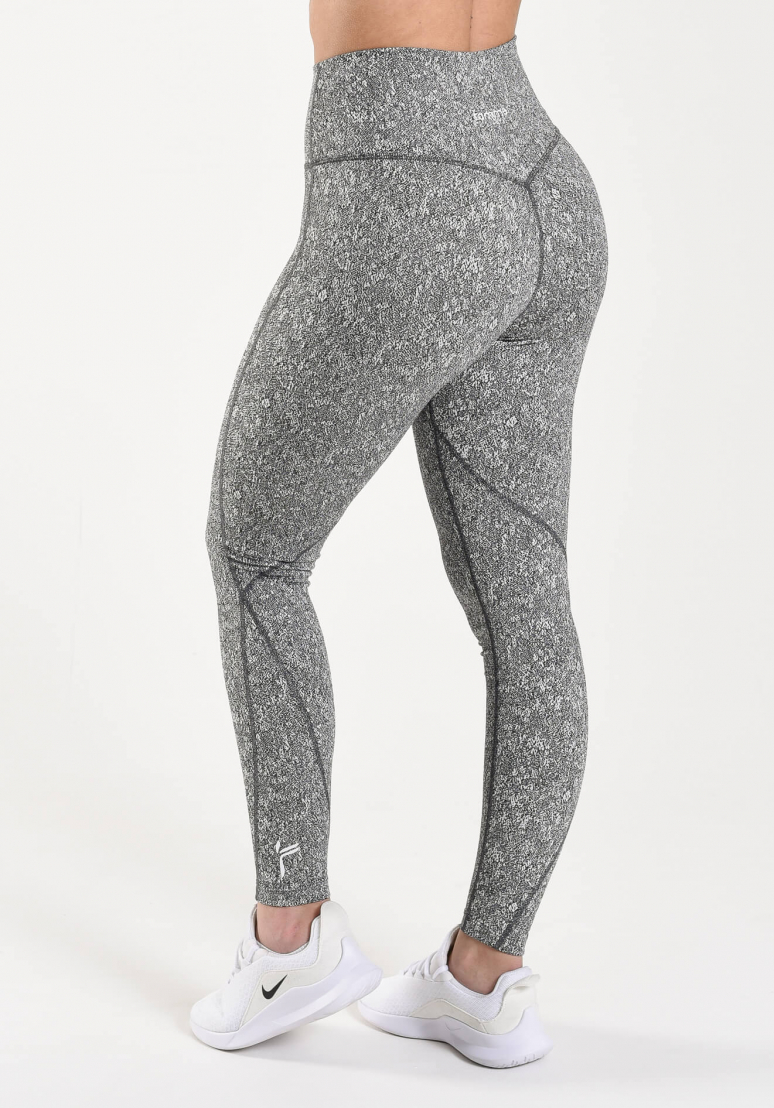 Lunge Tights - Black/White
