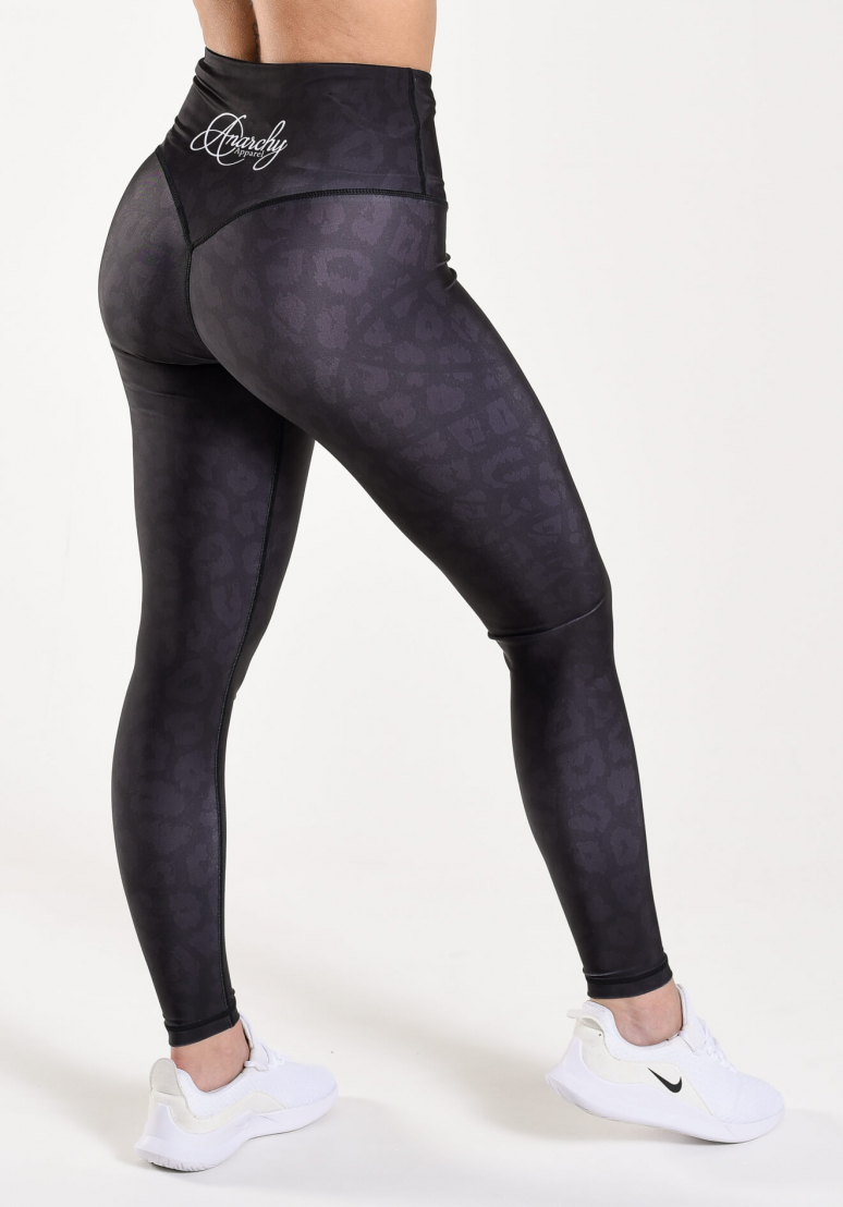 Black Panther Tights - Black