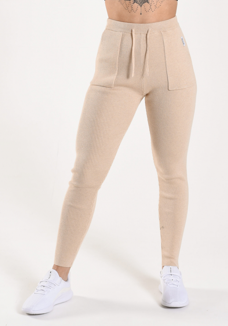Wanderlust Leggings - Beige