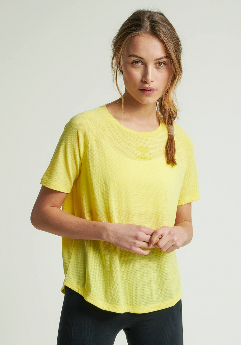 Vanja T-shirt - Lemon Yellow