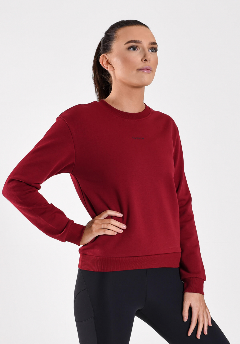 Pure Sweatshirt - Dark Red