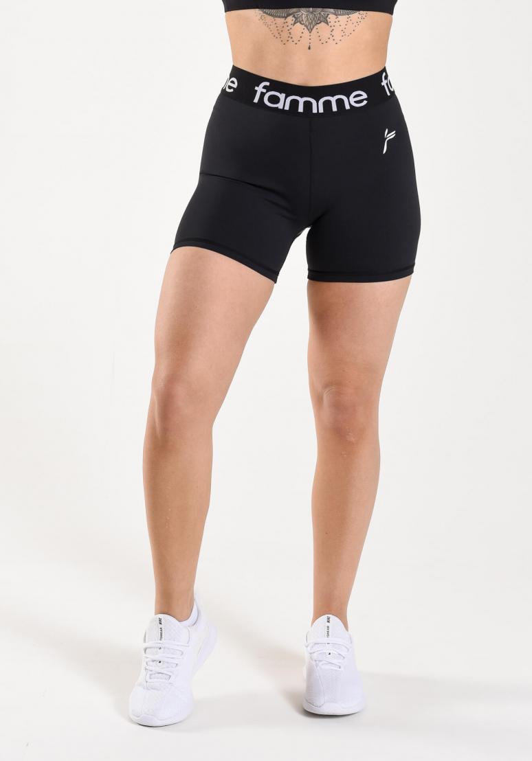 Famme Running Shorts - Black