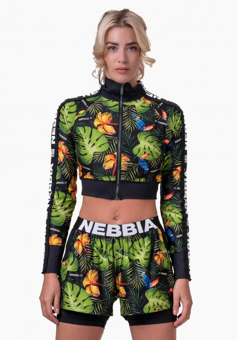 High Energy Cropped Jacket