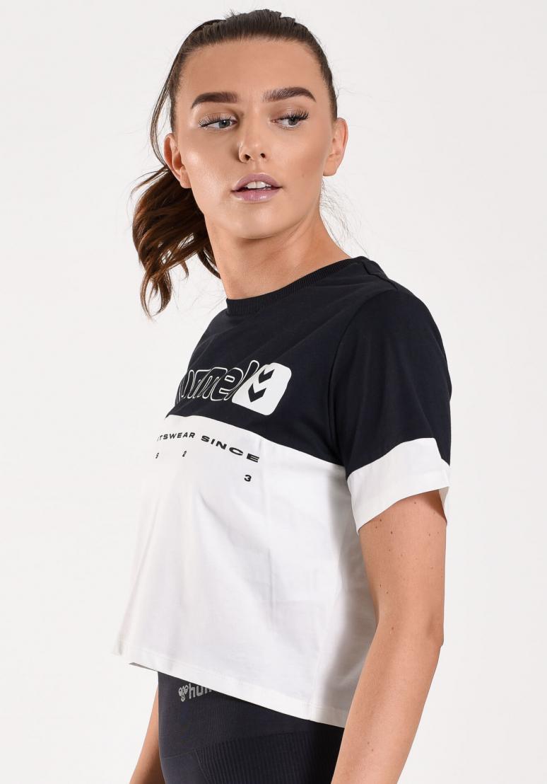 Siw Cropped T-shirt - Black