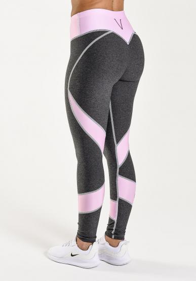 Raspberry Swirl Comfort Tights