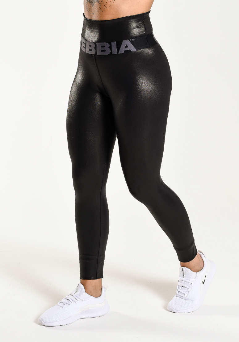 High Waist Glossy Leggings