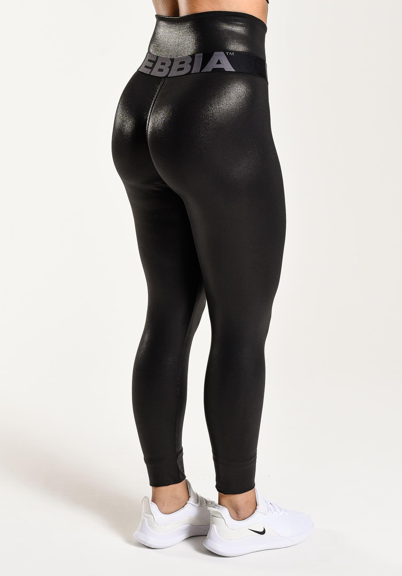 High Waist Glossy Leggings