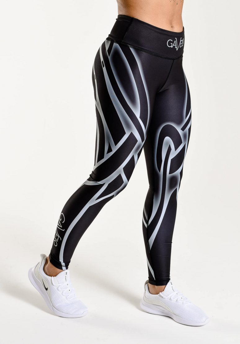 Liquorice Compression Tights