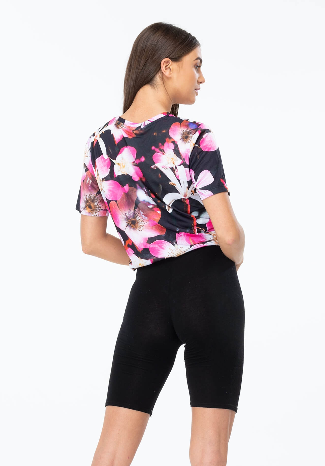 HYPE Crop T-shirt These Flowers