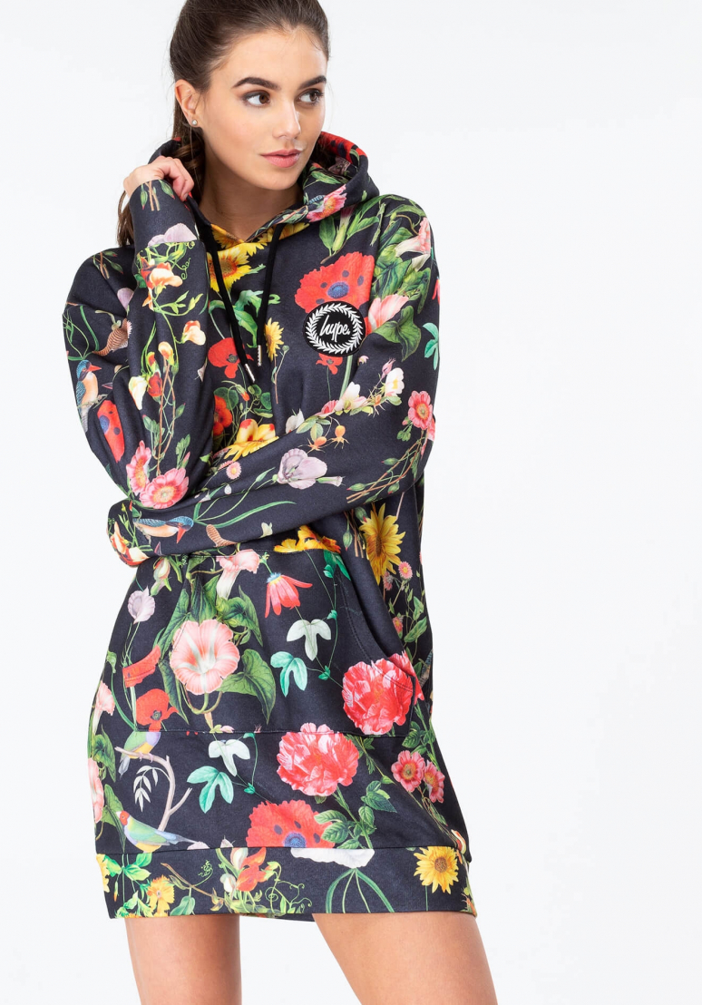 HYPE Hoodie Dress Regal Bird